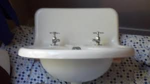 vintage wall hung sink problem mounting old wall mount sink doityourself com community forums