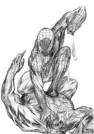 Venom Spiderman Coloring Pages 20237 Bestofcoloring