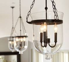 pottery barn hundi lantern bell jar pendant only 40 watt bulbs