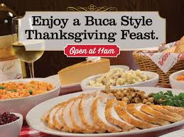 buca di beppo s thanksgiving feast giveaway ended