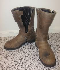 brown moto boots stylmartin legend rs boots review motorbike writer