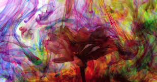 liquid paint art design vibrant wallpaper oil surface dissolving