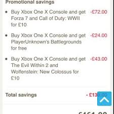 player unknown battlegrounds xbox one x bundle xbox one x bundle 5 games tesco direct 461 hotukdeals