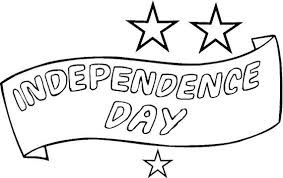 coloring pages of independence day of india independence day coloring pages carrying flag on independence day