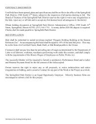 springfield park district park news