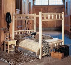 Twin Size Canopy Bed Frame Log Canopy Bed Rustic Canopy Bed Rustic Natural Cedar
