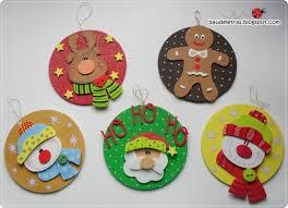reutiliza cds para hacer lindos adornos navideños navidad