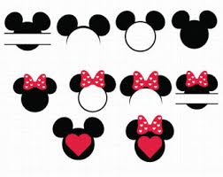 minnie mouse monogram minnie mouse svg etsy