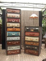 Dresser Diy Diy Idea Vintage Suitcase Drawer Dresser Man Made Diy Crafts