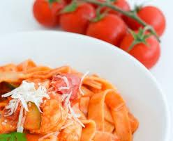 cuisiner des tomates s h s tagliatelles aux scis tomate crème recette de tagliatelles aux