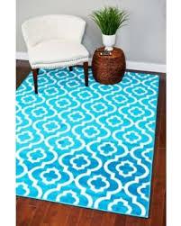 Turquoise Area Rug Incredible Deal On 3028 Turquoise Moroccan Trellis 7 U002710x10 U00276 Area