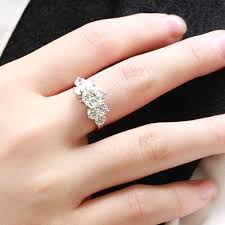 stainless steel engagement ring women s stainless steel cubic zirconia engagement ring