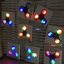 wholesale led fidget spinner with lights bulk