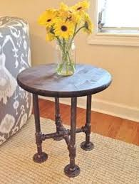 Pipe Coffee Table by Industrial Wood And Pipe End Table Rustic End Table Industrial