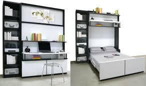 bureau motorisé lit gain de place lit escamotable et canapé convertible pour petit