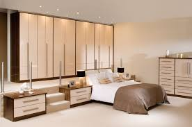 Bedroom Fitted Furniture Walnut And White Gloss Bedroom Furniture Descargas Mundiales Com
