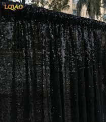 Black Gold Curtains 8ftx10ft Black Gold Shimmer Sequin Backdrop Sequin Curtains