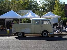 vintage volkswagen truck curbside classic 1962 vw double cab pickup u2013 the granddaddy of
