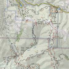 Henry Cowell State Park Map by Trail Map Of Portola Redwoods And Pescadero Creek