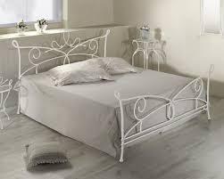 Schlafzimmer Mit Metallbett Doppelbett Aus Metall In 140x200 Cm Anthrazit Porco