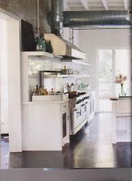 the benefits when using concrete floor kitchen floors that look