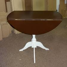 Drop Leaf Dining Room Table Easy Way To Make A Drop Leaf Dining Table 5 Steps With Pictures