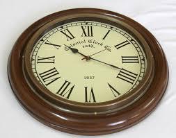 buy artshai big 16 inch wall clock antique vintage look brass