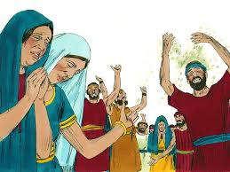 free bible images moses see the promised land then dies and