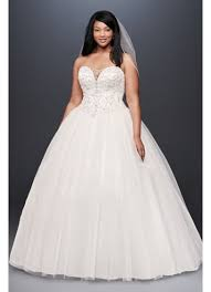 wedding dresses plus size beaded illusion plus size gown wedding dress david s bridal