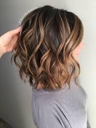 Caramel Hair Color With Honey Blonde Highlights Balayage Brunette Caramel Highlights Honey Balayeombre Hair