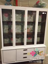 Kitchen Cabinet Display For Sale Garage Sale China Cabinet Makeover U2014 Carley Kelley