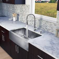 kitchen faucet placement faucet com vg15203 in stainless steel by vigo