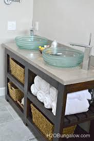 diy bathroom vanity ideas build an open shelf bathroom vanity hometalk brilliant regarding 25