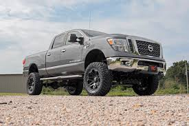 jeep comanche lifted country 6in nissan titan suspension lift kit 2016 titan xd 4wd
