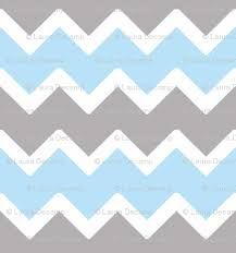 sky blue grey gray chevron wallpaper decamp studios spoonflower