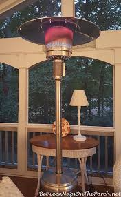 patio heater propane a standing outdoor heater for deck u0026 patio enjoyment this fall