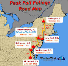 Weather Map New York by How The Weather Impacts Fall Foliage Weatherworks