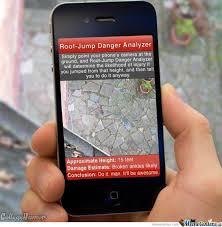 Meme Center Mobile App - latest iphone app roof jump danger analyzer by mustapan meme