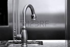 Luxury Kitchen Faucet Luxury Kitchen Faucet And Refrigerator Black And White Interiors
