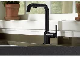 Black Faucet Bathroom by Faucet Finishes Kitchen U0026 Bathroom Sinks Kohler