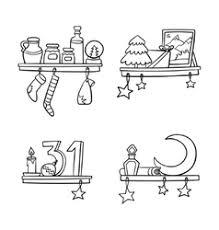 christmas ornaments u0026 cartoon vector images over 7 600