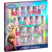 disney frozen nail polish gift set 18 pc walmart com