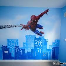 Spiderman Wallpaper For Bedroom Bedroom Inspiring Room Design For Your Children Bedroom With