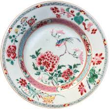 chinese export porcelain famille rose yongzheng plate