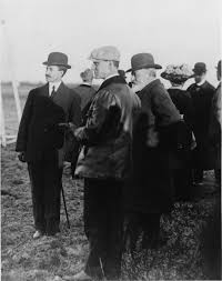 the wright brothers with king edward vii of england