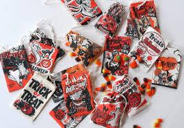 diy halloween treat bags spoonflower blog