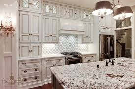 kitchen backsplash ideas with cherry cabinets pink cabinetry