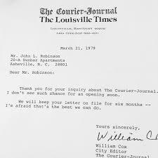 Resume Rejection Letter The Best Rejection Letters I Ever Got Media Disrupted