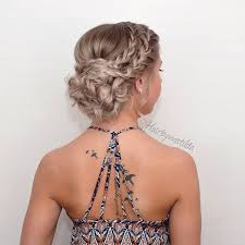 homecoming hair braids instructions prom ideas pinteres