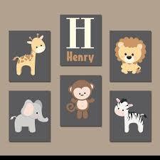 Animal Wall Decor For Nursery Best 25 Baby Artwork Ideas On Pinterest 重庆幸运农场倍投方案